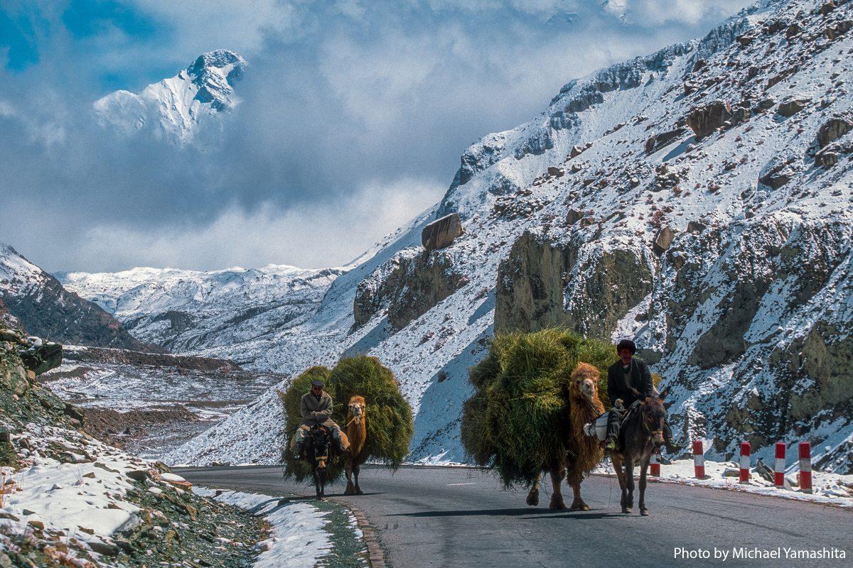 Pamir Mountains enroute Pakistan RoadKashi, China